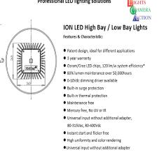 Ion Led Lights Lights Camera Action