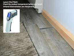 90 of luxury vinyl tile plank installation failures are the result of installing product that is too cold proper storage and conditioning of new lvt p to