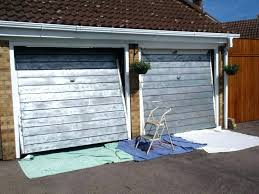 how to paint a garage door with a brush best paint brush for doors painting metal