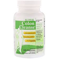 health plus super colon cleanse 500 mg 120 capsules