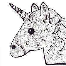25 Printen Kleurplaat Emoji Unicorn Mandala Kleurplaat Voor Kinderen