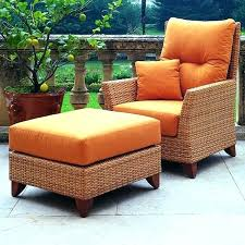 resin wicker chair with ottoman ideas patio chair with ottoman and natural outdoor patio reclining sling chair with ottoman ideas patio chair with ottoman