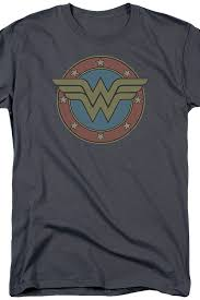 Classic Wonder Woman Logo T-Shirt: Wonder Woman Mens T-Shirt