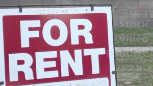 for rent sign template house for rent sign in classic template on lawn of suburban home in