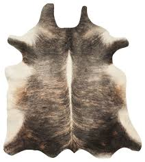 animal inspirations cow hide area rug contemporary novelty rugs by rugpal