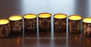 handmade christmas luminaries