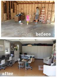 converting garage into office. Garage Remodel (playroom Conversion) Before And After Converting Into Office A