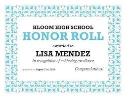 Academic Achievement Award Template