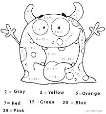 Math Addition Coloring Pages Kindergarten Math Addition Coloring ...