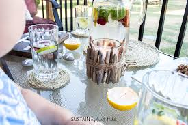 Contemporary Diy Patio Decorating Ideas Wrapped Rope Coasters Plus 11 In