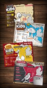 Kids Menu Design Restaurant Design Smd