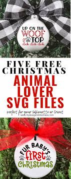 Choose from 2600+ christmas hat graphic resources and download in the form of png, eps, ai or psd. Free Animal Lover Christmas Svg Files My Designs In The Chaos