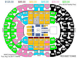 Quicken Loans Seating Chart Quicken Loans Seating Chart With Seat Numbers Quicken Loans
