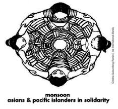 Monsoon Asians and Pacific Islanders in Solidarity (Logo)