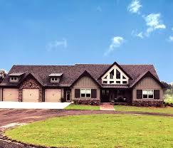 one y craftsman house plan alpine lodge
