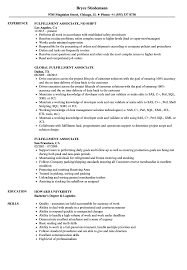 Warehouse Associate Resume Sample Fulfillment Associate Resume Samples Velvet Jobs 5