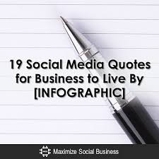 Quotes About Social Media Magnificent 48 Social Media Quotes For Business [INFOGRAPHIC]