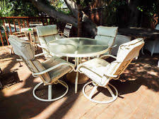 homecrest patio furniture cushions. vintage homecrest outdoor patio furniture 4 garden swivel chairs \u0026 glass table cushions z