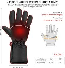 KOqwez33 <b>Winter Electric Heated Gloves</b> Thermal Heat Gloves ...