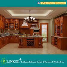 Linkok Furniture Modern Modular Kitchen Design Lacquer Modular Solid