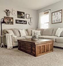 48 cute modern farmhouse living room