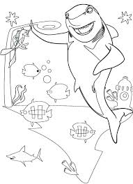 Small Picture Great White Shark Frankie Shark Tale Coloring Pages Batch Coloring