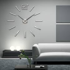 Aliexpress Com Buy Recommend Quartz Diy 3d Wall Clock 20 Inch