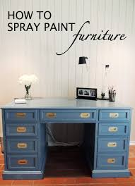 spray painted furniture ideas. Household · How To Spray Paint Furniture Painted Ideas W