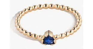 lyst shahla karimi birthstone ring no 3 in metallic save 7 142857142857139