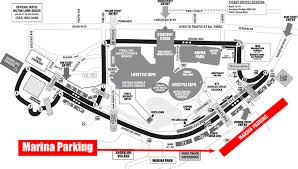 Circuit Map Parking Acura Grand Prix Of Long Beach