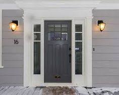 front door with sidelightDoors Fiberglass Front Door With Sidelights And Combination White