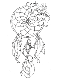 To Print This Free Coloring Page Coloring Dreamcatcher Tattoo