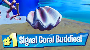Signal the Coral Buddies Location ...