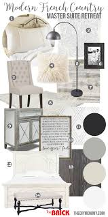 Bedroom Mood Board Mood Board A Modern French Country Master Bedroom My One Room