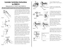 installation instructions defrost timer kit spa1403fl supco icemaker installation instructions for rim313 supco