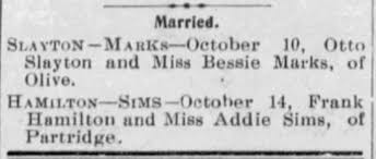 Hamilton and Sims marriage - Newspapers.com