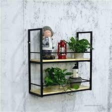 black hanging kitchen shelves floating wall shelf metal iron wood 2 popup wrought bookshelf prod