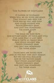Paper Flower Lyrics Flower Of Scotland Lyrics The Scotclans Scottish Clans Gado Gado