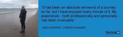 Career Changer My Career Change To Teaching Teaching Medium