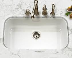 white single bowl kitchen sink. Houzer Porcela Series PCG-3600 Large Single Bowl Undermount Kitchen Sink In White Porcelain Enamel 3