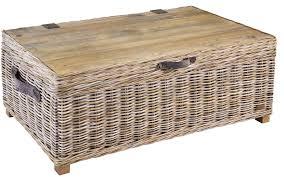 mystique rattan coffee storage table