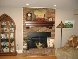 fireplace mantel ideas brick interior how to decorate a mantle with neatly arranged brick walls and fireplace mantel ideas brick
