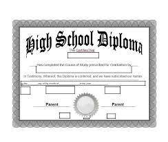 Fake Diploma Template Free 30 Real Fake Diploma Templates High School College