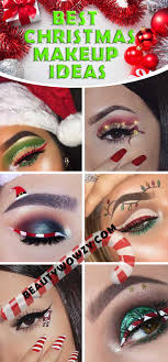 so why not impress and go all out with your christmas make up so get your makeup bag ready with eye shadows in reds and greens and get ready to shine