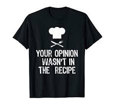 Chef Amazon T Shirt The Best Amazon Price In Savemoneyes