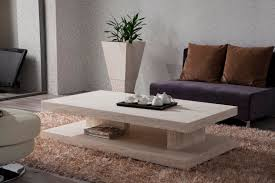 Modern Living Room Table Sets Stone Coffee Table For Perfect Living Room Traba Homes