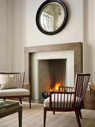 simple fireplace profile