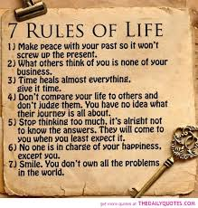 40rulesoflifequotessayingspictures Responsive CV Simple 7 Rules Of Life Quote