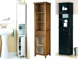 tall narrow bathroom cabinet tall white storage