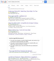 giving online legal services consumers what they want how to make a will online google search
